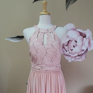 New Nightway Pink Sequin Dress